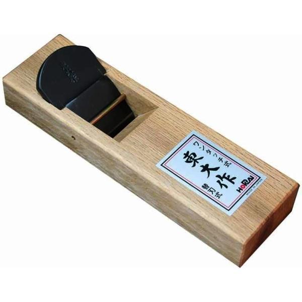 【大工・切削工具】HORAI(ホーライ) 東大作 ワンタッチ替刃式鉋(カンナ)42mm 面取り用 K-1142【452】