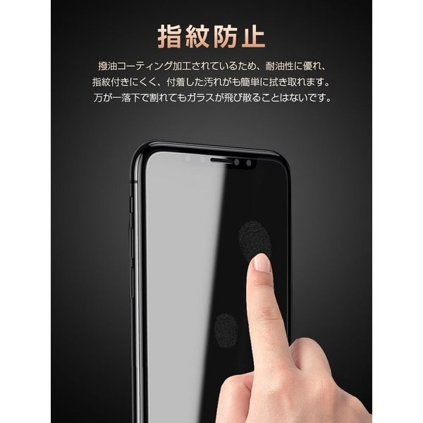 iPhone 11 iPhone 11 Pro  ガラスフィルム 2枚セット 日本製旭硝子 アイフォン 液晶保護  気泡ゼロ 高鮮明 硬度9H 指紋防止 飛散防止 2.5D|bluerange-store|03