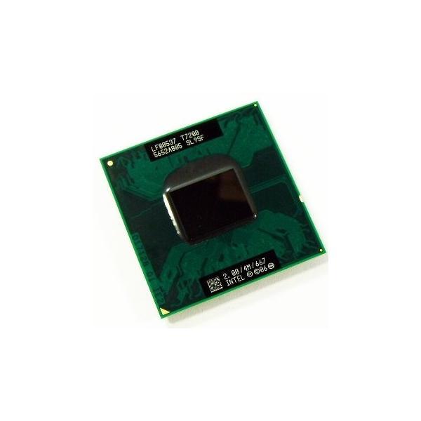 【中古良品】ノート用CPU インテル Core2 Duo プロセッサー T7200 4M 2.00GHz 667MHz インテル モバイル中古CPU 【送料無料】|bluesky-eshop