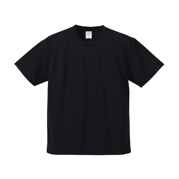 Tシャツ メンズ レディース 半袖 無地 黒 ブラック s m l xl 2l xxl 3l xxxl 4l xxxxl 5l 大きいサイズ 丈夫 シャツ ユニセックス ポリエステル 吸水速乾 吸汗|bluestyle