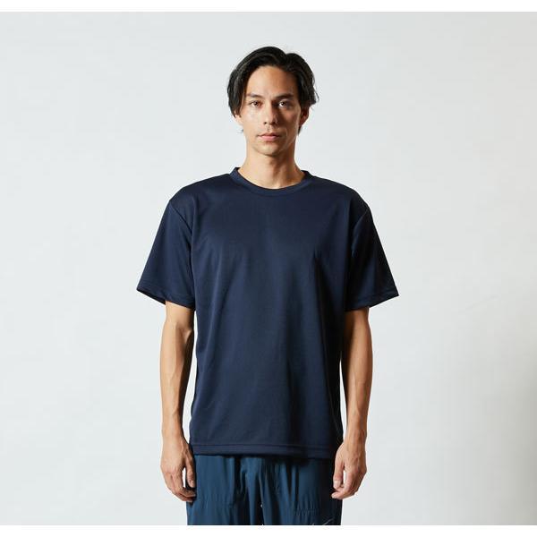 Tシャツ メンズ レディース 半袖 無地 黒 ブラック s m l xl 2l xxl 3l xxxl 4l xxxxl 5l 大きいサイズ 丈夫 シャツ ユニセックス ポリエステル 吸水速乾 吸汗|bluestyle|02