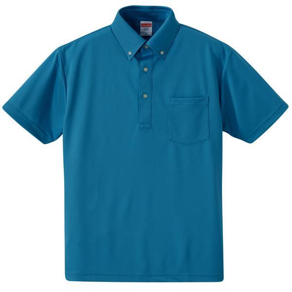 ef19b1c7481063 ポロシャツ メンズ レディース 半袖 無地 青 ブルー xs s m l xl xxl xxxl xxxxl 2l 3l 4l ...