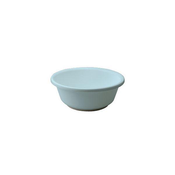 〔40セット〕 シンプル 風呂桶/湯桶 〔脚ゴム付き ブルー〕 27×10.2cm 材質:PP 『HOME&HOME』〔代引不可〕