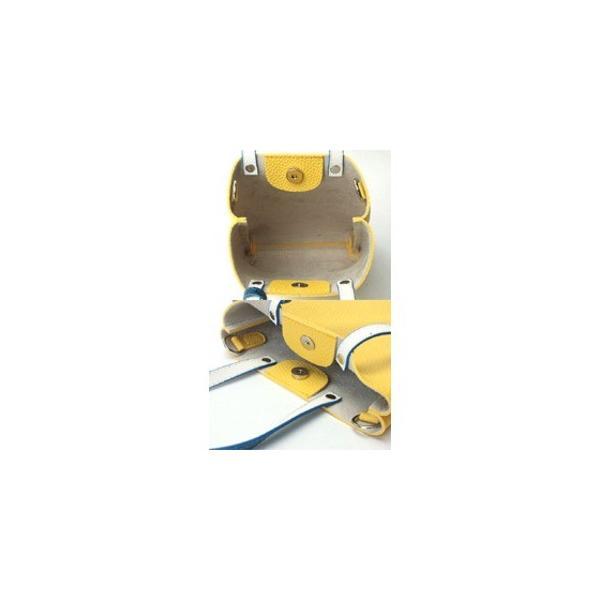 カラフル5色 柔らか素材のツートン2Wayハンドバッグ/グリーン
