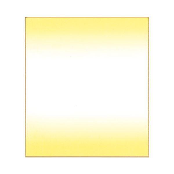 (まとめ)菅公工業 色紙ぼかし 画仙紙 クリーム ケ438〔×30セット〕