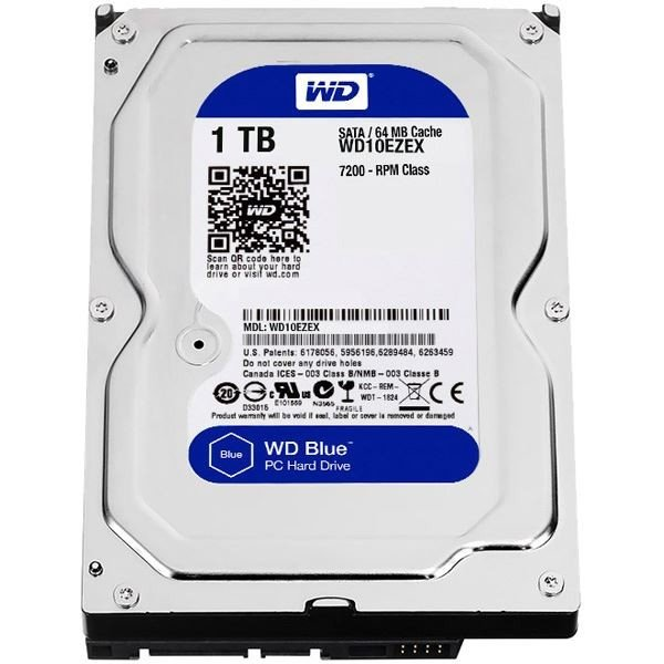 WESTERN DIGITAL WD Blueシリーズ 3.5インチ内蔵HDD 1TB SATA6.0Gb/s 7200rpm64MB