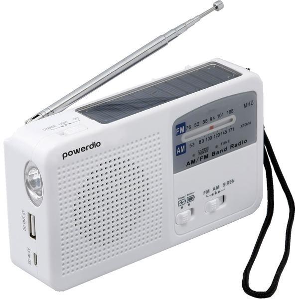 防災 ラジオライト 手回し 充電 多機能〔代引不可〕