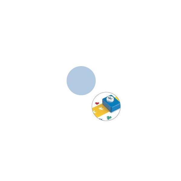 (まとめ)カール事務器 クラフトパンチ スモールサイズ (サークル1/2) CP-1 1個 〔×10セット〕