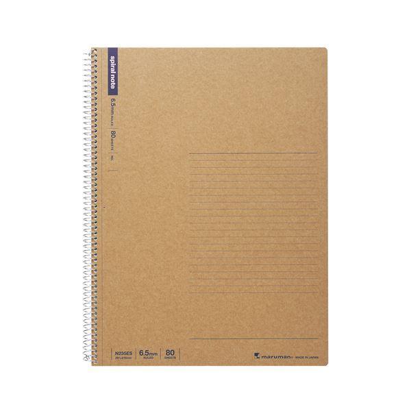 (まとめ) マルマン A4 スパイラルノート 横罫 80枚 〔×10セット〕