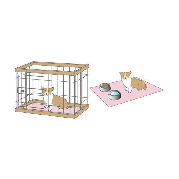 ペットシーツ 犬 猫 50×50cm 消臭 抗菌 吸水 速乾 洗濯 洗える ワイド トイレ ペット用品 ハウス 介護 高機能 シーツ ペット 防水 厚型 介護用品 トイレシート|bluestyle|03