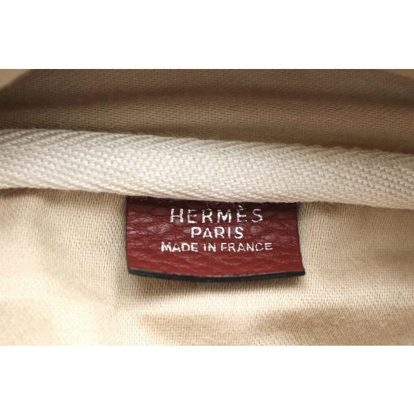 (バッグ)HERMES エルメス ヴィクトリア43 ボストンバッグ 旅行カバン トラベルバッグ トリヨンクレマンス ルビー □B刻印 (k)