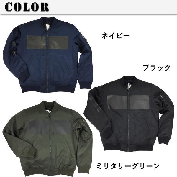 セール MA-1 メンズ BMCオリジナルプリント 中綿入り 撥水 フライトジャケット ミリタリージャケット  ジャンパー ブルゾン おしゃれアウター 3色 M-3L|bmc-tokyo|06