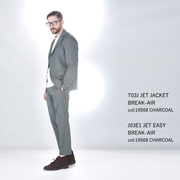 スーツ 上下セットアップ メンズ 吸水速乾 ストレッチ 家庭洗濯 BMC ビジネス オフィス ジャケット パンツ 空冷式スーツ ブラック/ネイビー/グレー M-LL bmc-tokyo 12