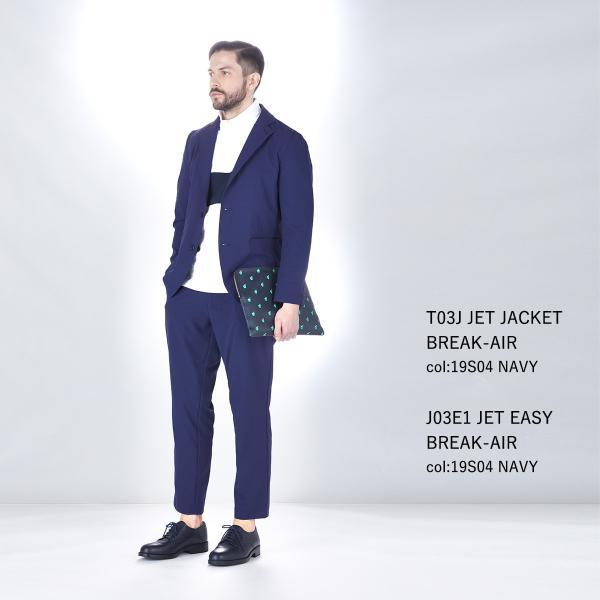 スーツ 上下セットアップ メンズ 吸水速乾 ストレッチ 家庭洗濯 BMC ビジネス オフィス ジャケット パンツ 空冷式スーツ ブラック/ネイビー/グレー M-LL bmc-tokyo 10