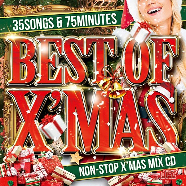 MIXCD+DVD -送料無料 - BEST OF X'MAS -OFFICIAL MIXCD-《洋楽 Mix CD/洋楽 CD》《 MER-005-2 / 輸入盤 / 正規品》|bmpstore