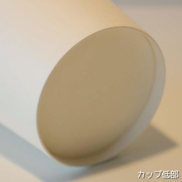 テイクアウト 紙コップ 耐熱白無地 90mm口径12オンス 紙カップ 1000個|bmt-store|04
