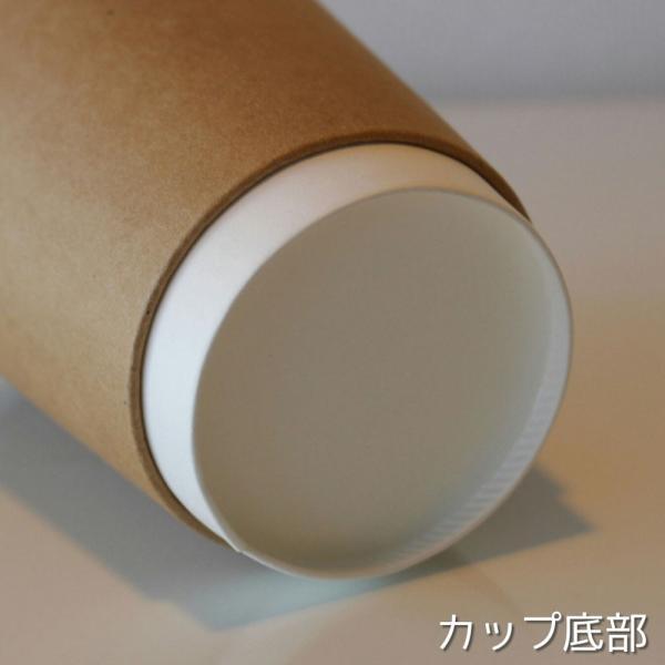 テイクアウト おしゃれ お持ち帰り 紙コップ 断熱クラフト二重8オンス 紙カップ 1000個|bmt-store|05
