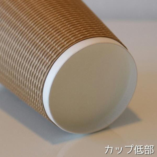 紙コップ 蓋付き 断熱エコクラフト2重8オンス 紙カップ &ホット用白蓋 100個セット EC04|bmt-store|05