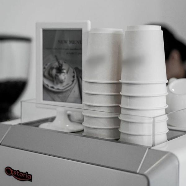 テイクアウト 紙コップ 断熱ホワイト二重8オンス 紙カップ bmt-store 16