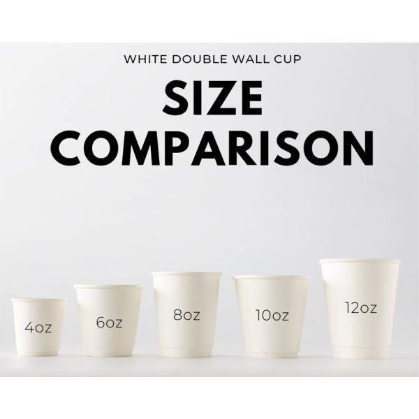 テイクアウト 紙コップ 断熱ホワイト二重12オンス 紙カップ 1000個|bmt-store|04