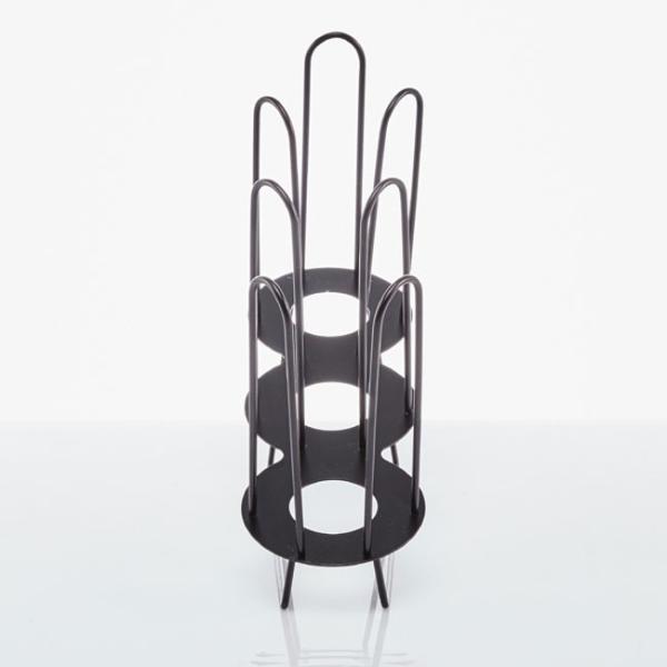 紙コップ クリアカップ ディスペンサー カップ&フタ用ワイヤー 3口用 C90|bmt-store|03