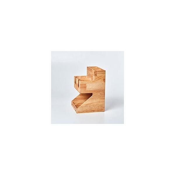 紙コップ テイクアウト おしゃれ クリアカップ カフェグッズ ディスペンサー ウッディーダブルディスペンサー Cuffy-W1141|bmt-store|07
