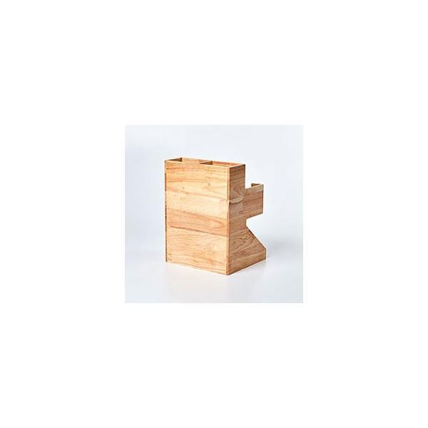 紙コップ テイクアウト おしゃれ クリアカップ カフェグッズ ディスペンサー ウッディーダブルディスペンサー Cuffy-W1141|bmt-store|08