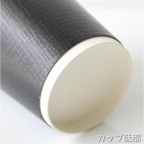 テイクアウト 紙コップ 断熱エンボスブラック12オンス 紙カップ 1000個|bmt-store|06