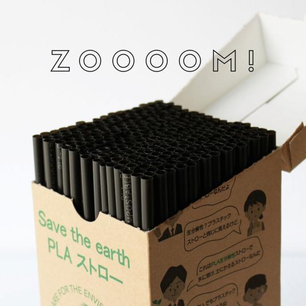 生分解 PLAストロー エコストロー ブラック 5000本|bmt-store|10