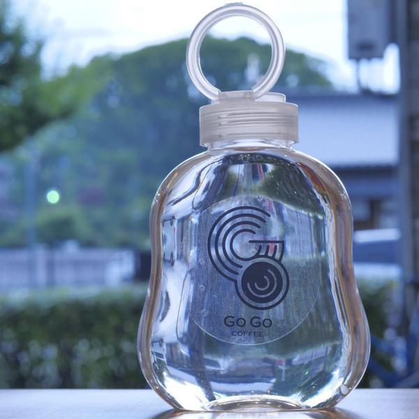 テイクアウト ドリンクボトル ボトル容器 400ml gourd 持ち手付 半透明蓋 ボトルドリンク 100個セット|bmt-store|15