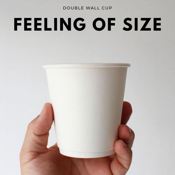 テイクアウト 紙コップ 断熱ホワイト二重10オンス 紙カップ|bmt-store|07
