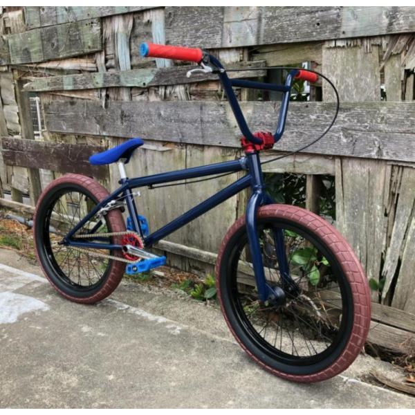 限定FACTORY FULLCUSTOM BMX STREET 20インチ ATRO STYLE BSD PASSENGER FREECOASTER STREET MIDNIGHT BLUE bmx-source 02