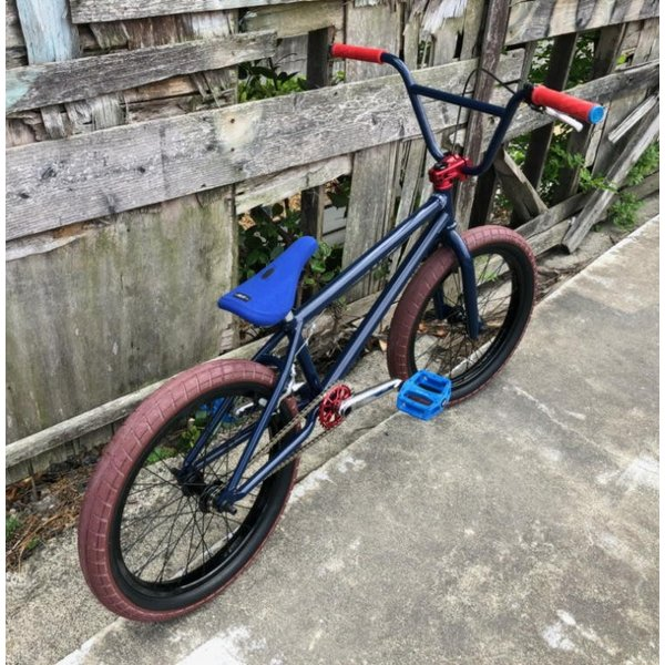 限定FACTORY FULLCUSTOM BMX STREET 20インチ ATRO STYLE BSD PASSENGER FREECOASTER STREET MIDNIGHT BLUE bmx-source 03