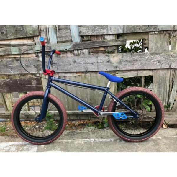 限定FACTORY FULLCUSTOM BMX STREET 20インチ ATRO STYLE BSD PASSENGER FREECOASTER STREET MIDNIGHT BLUE bmx-source 04