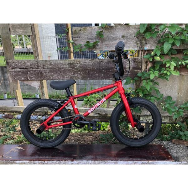 限定別注カラー 完全組み立てすぐに乗れます 自転車 BMX 子供 14インチ キッズバイク  TNB PLUG 14  ATRO-STYLE CANDY-RED|bmx-source|02