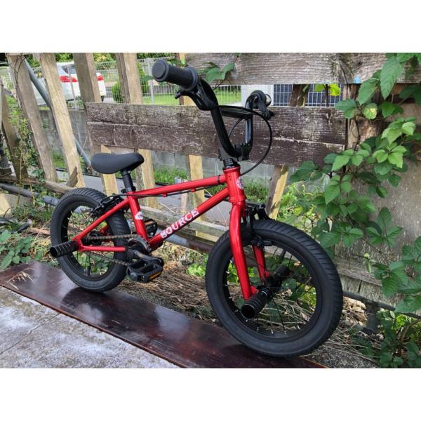 限定別注カラー 完全組み立てすぐに乗れます 自転車 BMX 子供 14インチ キッズバイク  TNB PLUG 14  ATRO-STYLE CANDY-RED|bmx-source|03