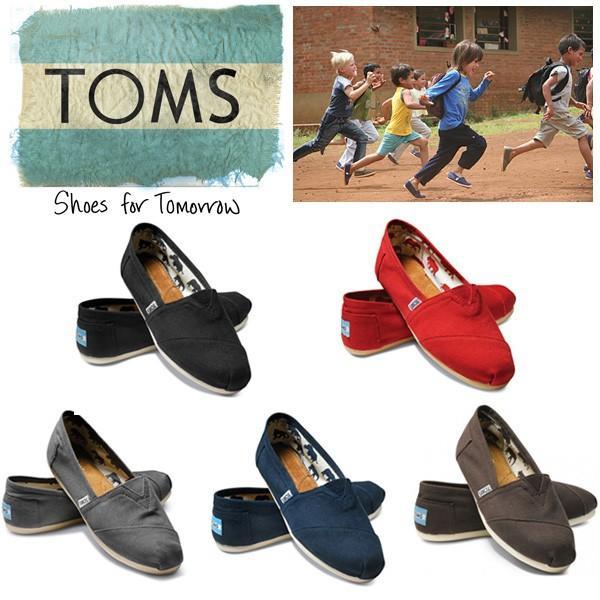 トムズ シューズ TOMS SHOES キャンバス CANVAS スリッポン レディース 靴