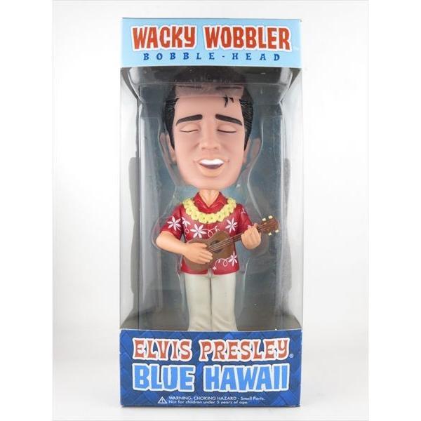 エルヴィス・プレスリーブルーハワイFUNKO(ファンコ)WackyWobbler(ワッキーワブラー)バブルヘッド