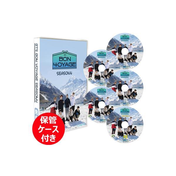 K-POPDVD BTSBONVOYAGESEASON4 5枚SET(EP1-EP8+BEHIND) 日本語字幕  保管ケース