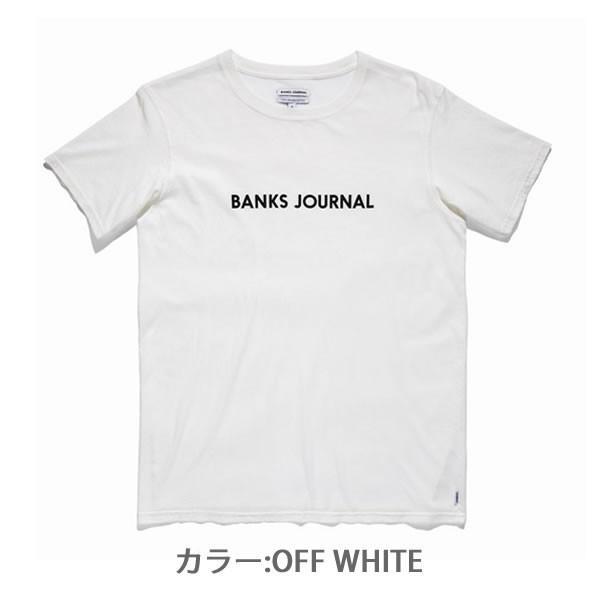シャツバンクス【BANKS】WTS0227 LABEL TEE(MENS) 半袖 Tシャツ ロゴ シンプル メンズ 人気|bobsstore|03