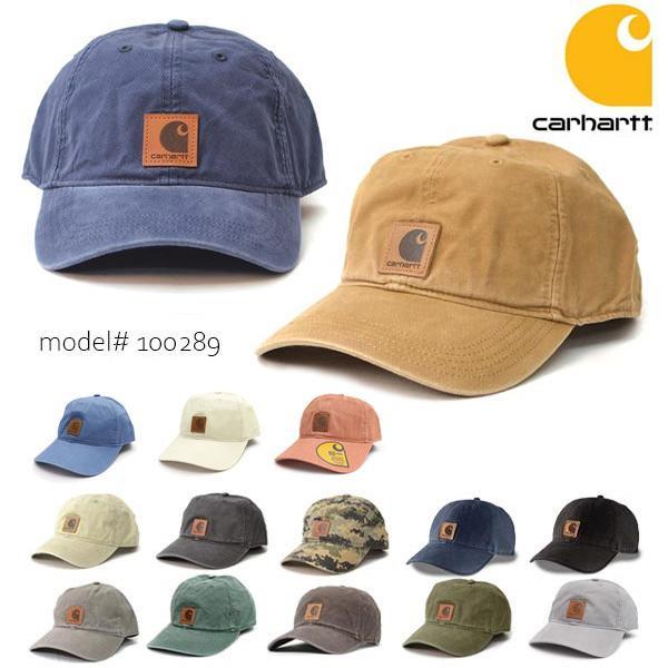 カーハート/carhartt 100289 ODESSA Cap Men's, Cotton Canvas Hat コットン キャップ カジュアル メンズ 帽子【メール便発送のみ送料無料】|bobsstore