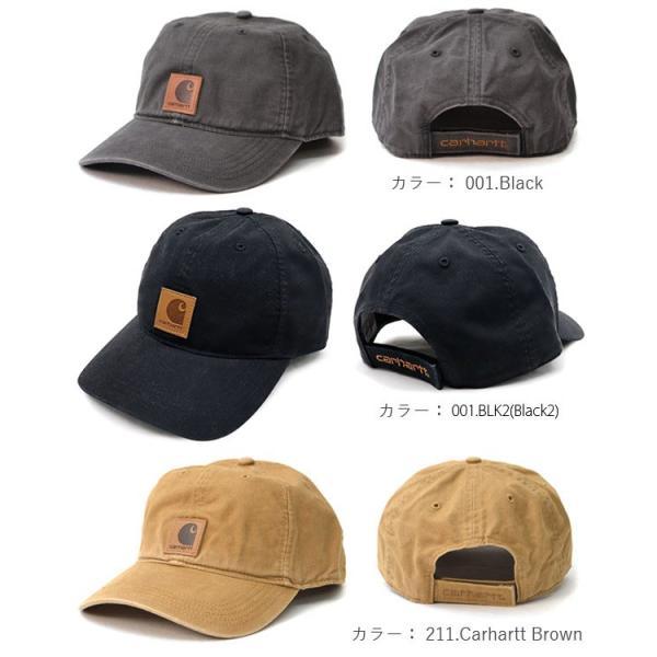 カーハート/carhartt 100289 ODESSA Cap Men's, Cotton Canvas Hat コットン キャップ カジュアル メンズ 帽子【メール便発送のみ送料無料】|bobsstore|02