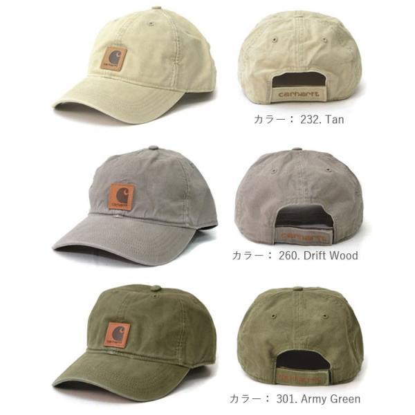 カーハート/carhartt 100289 ODESSA Cap Men's, Cotton Canvas Hat コットン キャップ カジュアル メンズ 帽子【メール便発送のみ送料無料】|bobsstore|03
