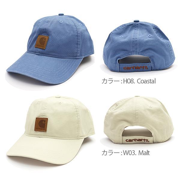 カーハート/carhartt 100289 ODESSA Cap Men's, Cotton Canvas Hat コットン キャップ カジュアル メンズ 帽子【メール便発送のみ送料無料】|bobsstore|05