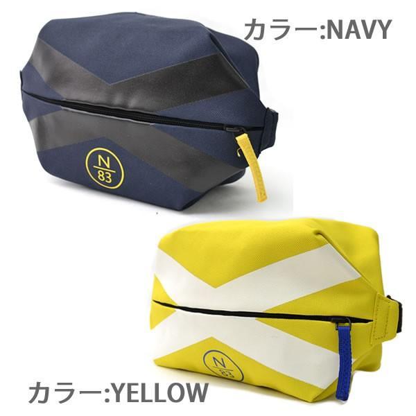 ノーティカ/Nautica NB0014 TRAVEL KIT ポーチ トラベルキット バッグ ノーティカ ネイビー イエロー|bobsstore|02