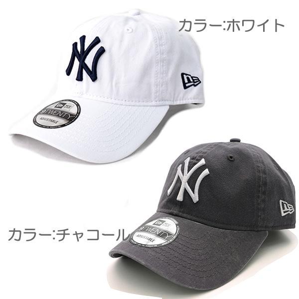 NEW ERAニューエラ 9TWENTY 920 ニューヨーク・ヤンキース ブラック ホワイト チャコール キャメル 帽子 メンズ レディース 【ネコポスのみ送料無料】|bobsstore|03