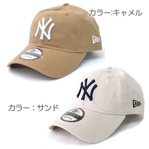 NEW ERAニューエラ 9TWENTY 920 ニューヨーク・ヤンキース ブラック ホワイト チャコール キャメル 帽子 メンズ レディース 【ネコポスのみ送料無料】|bobsstore|04