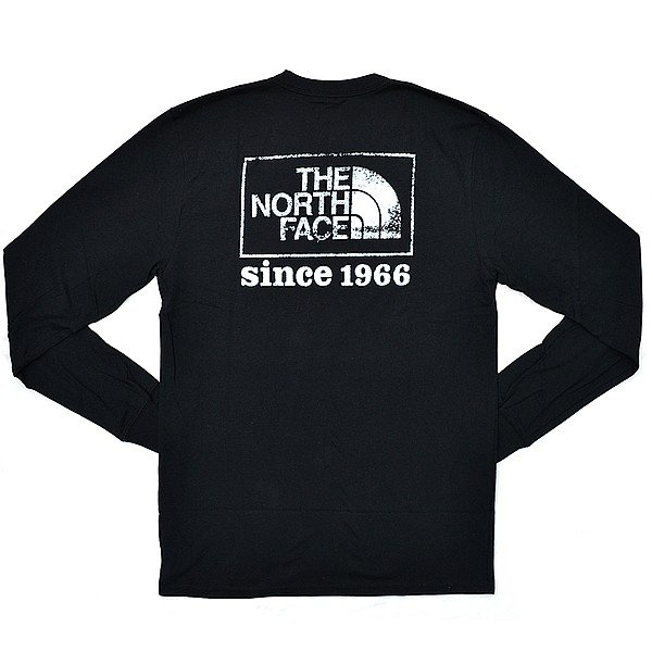 ザ・ノース・フェイス/THE NORTH FACE Men's LONG SLEEVE THROWBACK TEE NF0A3RUB STANDARD FIT ロングTシャツ 長袖 メンズ 人気 ロング Tシャツ|bobsstore|06