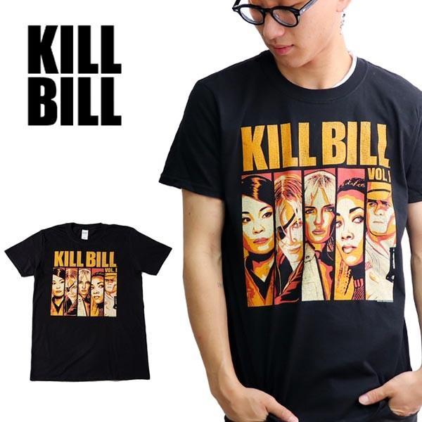 キル・ビル【Kill Bill】COMIC BLACK S/S TEE キル・ビル 映画 メンズ Tシャツ 半袖 トップス クルーネック 正規ライセンス【ネコポス発送のみ送料無料】