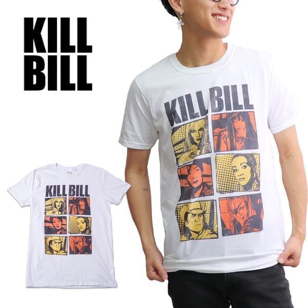 キル・ビル【Kill Bill】COMIC WHITE S/S TEE キル・ビル 映画 メンズ Tシャツ 半袖 トップス クルーネック 正規ライセンス【ネコポス発送のみ送料無料】